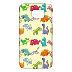 Group Of Funny Dinosaurs Graphic Galaxy S6