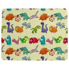 Group Of Funny Dinosaurs Graphic Jigsaw Puzzle Photo Stand (rectangular)