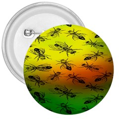 Insect Pattern 3  Buttons