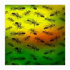 Insect Pattern Medium Glasses Cloth