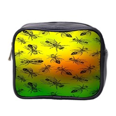 Insect Pattern Mini Toiletries Bag 2 Side