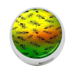 Insect Pattern 4 Port Usb Hub (two Sides)