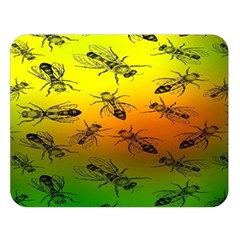 Insect Pattern Double Sided Flano Blanket (large)