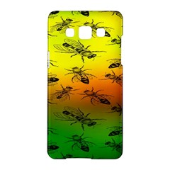 Insect Pattern Samsung Galaxy A5 Hardshell Case