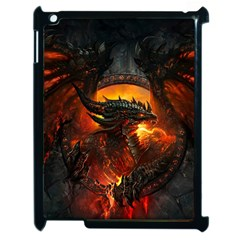Dragon Legend Art Fire Digital Fantasy Apple Ipad 2 Case (black)
