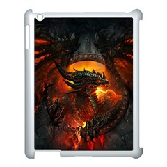 Dragon Legend Art Fire Digital Fantasy Apple Ipad 3/4 Case (white)
