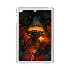 Dragon Legend Art Fire Digital Fantasy Ipad Mini 2 Enamel Coated Cases