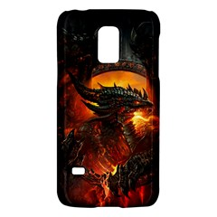 Dragon Legend Art Fire Digital Fantasy Galaxy S5 Mini
