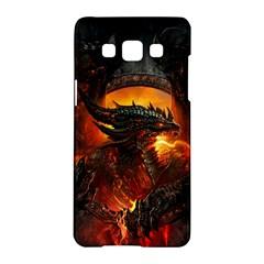 Dragon Legend Art Fire Digital Fantasy Samsung Galaxy A5 Hardshell Case