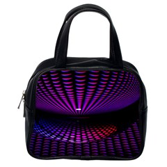 Glass Ball Texture Abstract Classic Handbags (one Side)