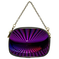 Glass Ball Texture Abstract Chain Purses (one Side)