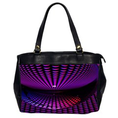 Glass Ball Texture Abstract Office Handbags (2 Sides)