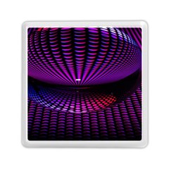 Glass Ball Texture Abstract Memory Card Reader (square)
