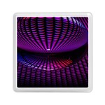Glass Ball Texture Abstract Memory Card Reader (Square)  Front