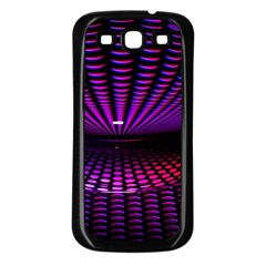 Glass Ball Texture Abstract Samsung Galaxy S3 Back Case (black)