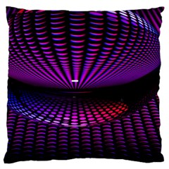 Glass Ball Texture Abstract Standard Flano Cushion Case (one Side)