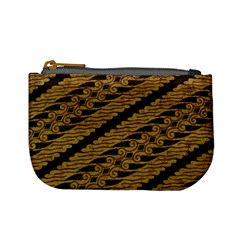 Traditional Art Indonesian Batik Mini Coin Purses