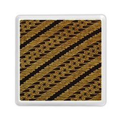 Traditional Art Indonesian Batik Memory Card Reader (square)