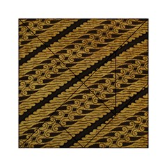Traditional Art Indonesian Batik Acrylic Tangram Puzzle (6  X 6 )
