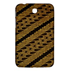Traditional Art Indonesian Batik Samsung Galaxy Tab 3 (7 ) P3200 Hardshell Case