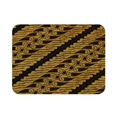 Traditional Art Indonesian Batik Double Sided Flano Blanket (mini)