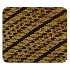Traditional Art Indonesian Batik Double Sided Flano Blanket (small)
