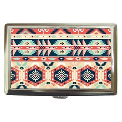 Aztec Pattern Cigarette Money Cases