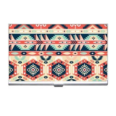 Aztec Pattern Business Card Holders