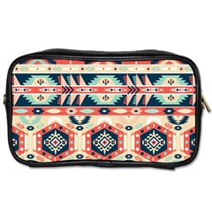 Aztec Pattern Toiletries Bags 2 Side