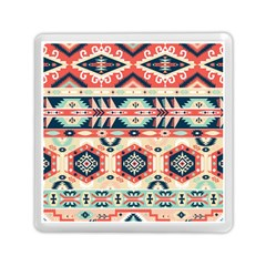 Aztec Pattern Memory Card Reader (square)
