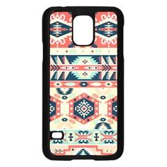 Aztec Pattern Samsung Galaxy S5 Case (black)