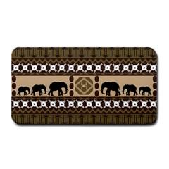 Elephant African Vector Pattern Medium Bar Mats