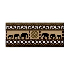 Elephant African Vector Pattern Cosmetic Storage Cases