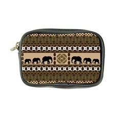 Elephant African Vector Pattern Coin Purse