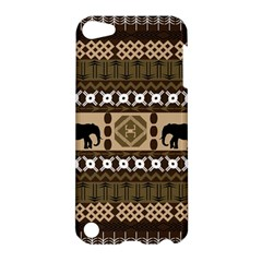 Elephant African Vector Pattern Apple Ipod Touch 5 Hardshell Case