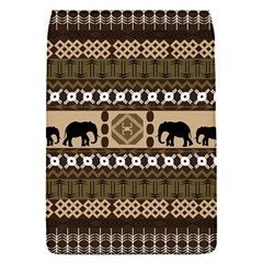 Elephant African Vector Pattern Flap Covers (s)