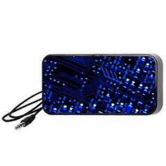 Blue Circuit Technology Image Portable Speaker (black)