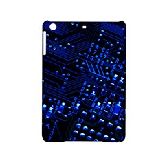 Blue Circuit Technology Image Ipad Mini 2 Hardshell Cases