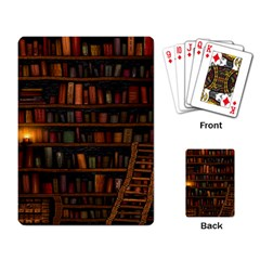 Books Library Playing Card