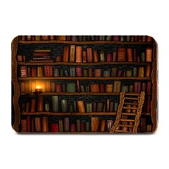 Books Library Plate Mats