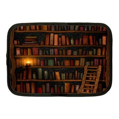 Books Library Netbook Case (medium)