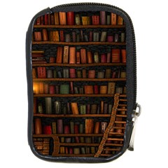 Books Library Compact Camera Cases
