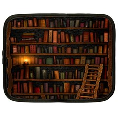 Books Library Netbook Case (xl)