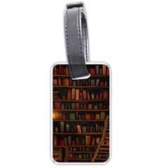 Books Library Luggage Tags (two Sides)