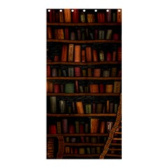Books Library Shower Curtain 36  X 72  (stall)