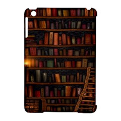 Books Library Apple Ipad Mini Hardshell Case (compatible With Smart Cover)