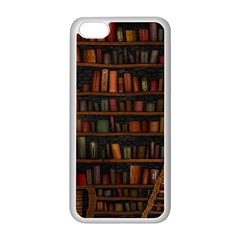 Books Library Apple Iphone 5c Seamless Case (white)