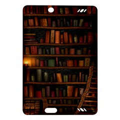 Books Library Amazon Kindle Fire Hd (2013) Hardshell Case