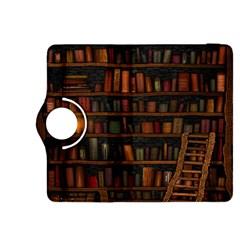Books Library Kindle Fire Hdx 8 9  Flip 360 Case
