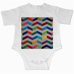 Charming Chevrons Quilt Infant Creepers
